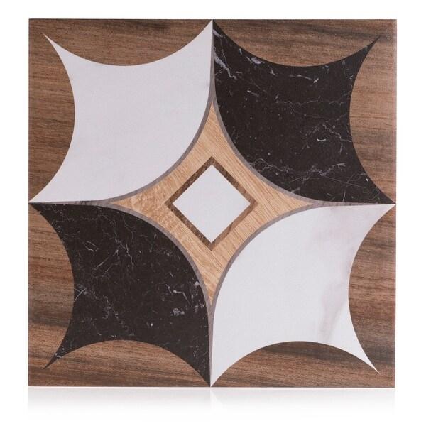 8x8 art wood marble design 5 porcelain