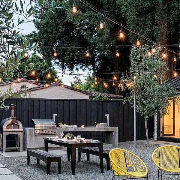 Shop 48ft 24 Led Outdoor Patio String Lights 2700k Soft White 24 Sockets Overstock 28553869