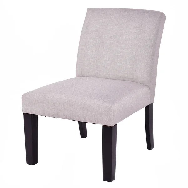 Armless Living Room Chairs