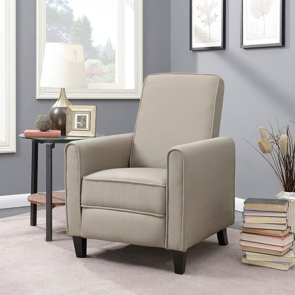 Shop Belleze Recliner Chair Accent Living Room Linen w ...