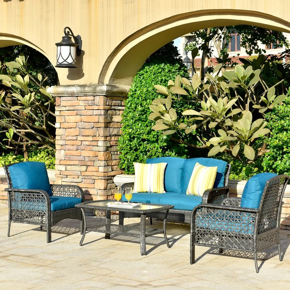 buy assembled outdoor sofas chairs