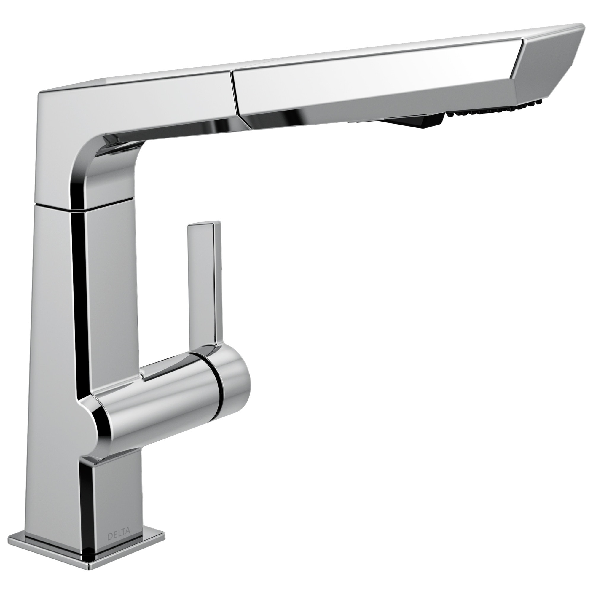 delta 4193 dst pivotal 1 8 gpm single hole pull out kitchen faucet