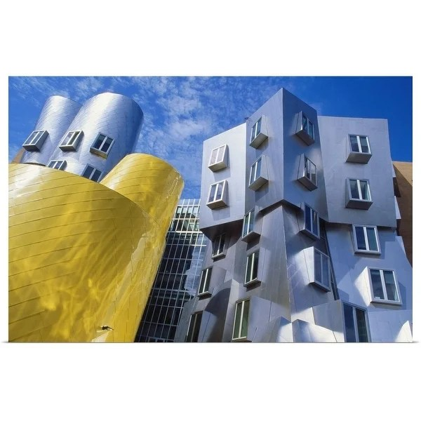 at mit frank gehry poster print