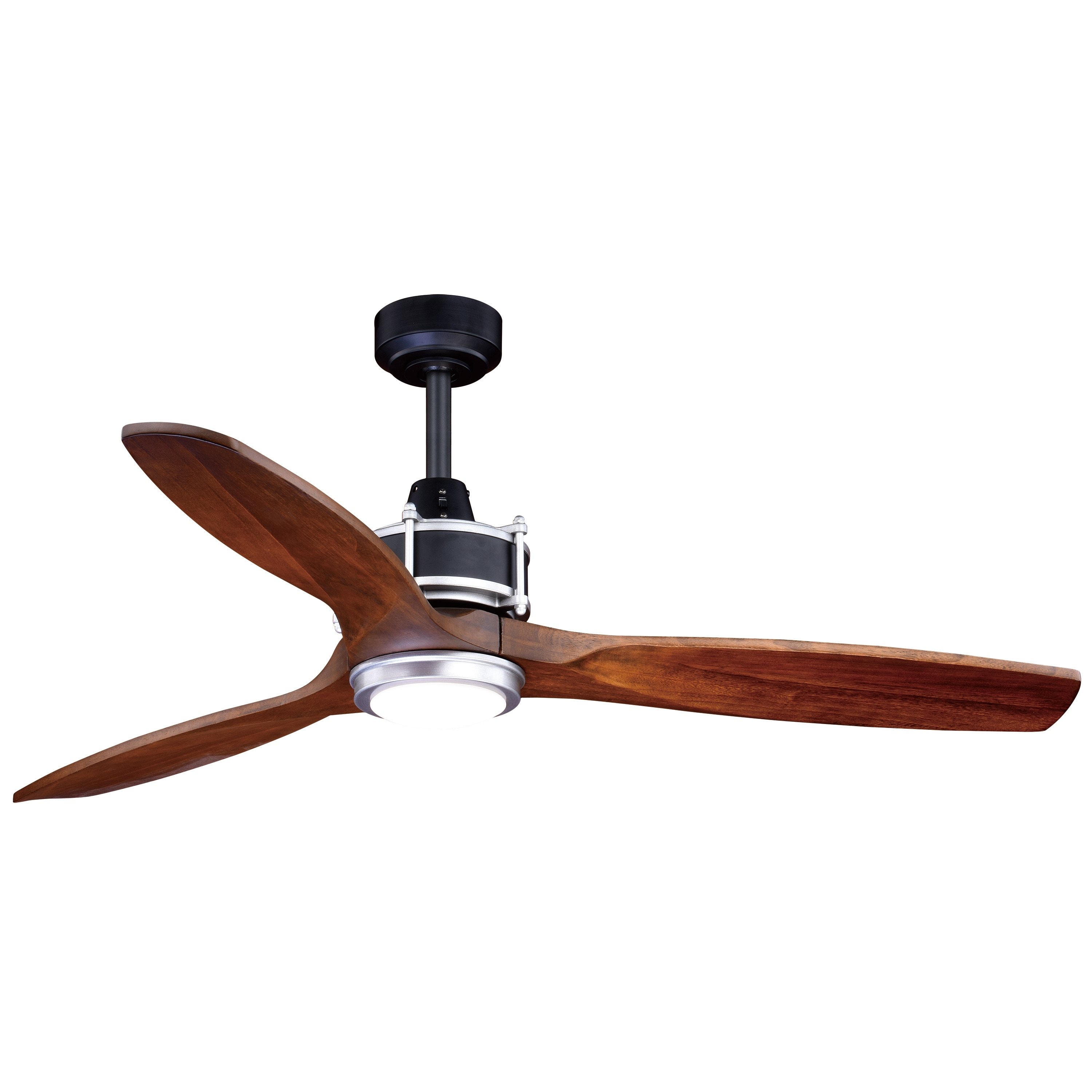 Shop Black Friday Deals On Curtiss 3 Speed 52 Inch Black Outdoor Ceiling Fan 52 In W X 21 75 In H X 52 In D Overstock 22694238