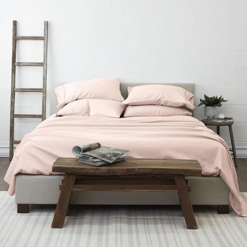 soft essentials ultra soft 6 piece deep pocket bed sheet set