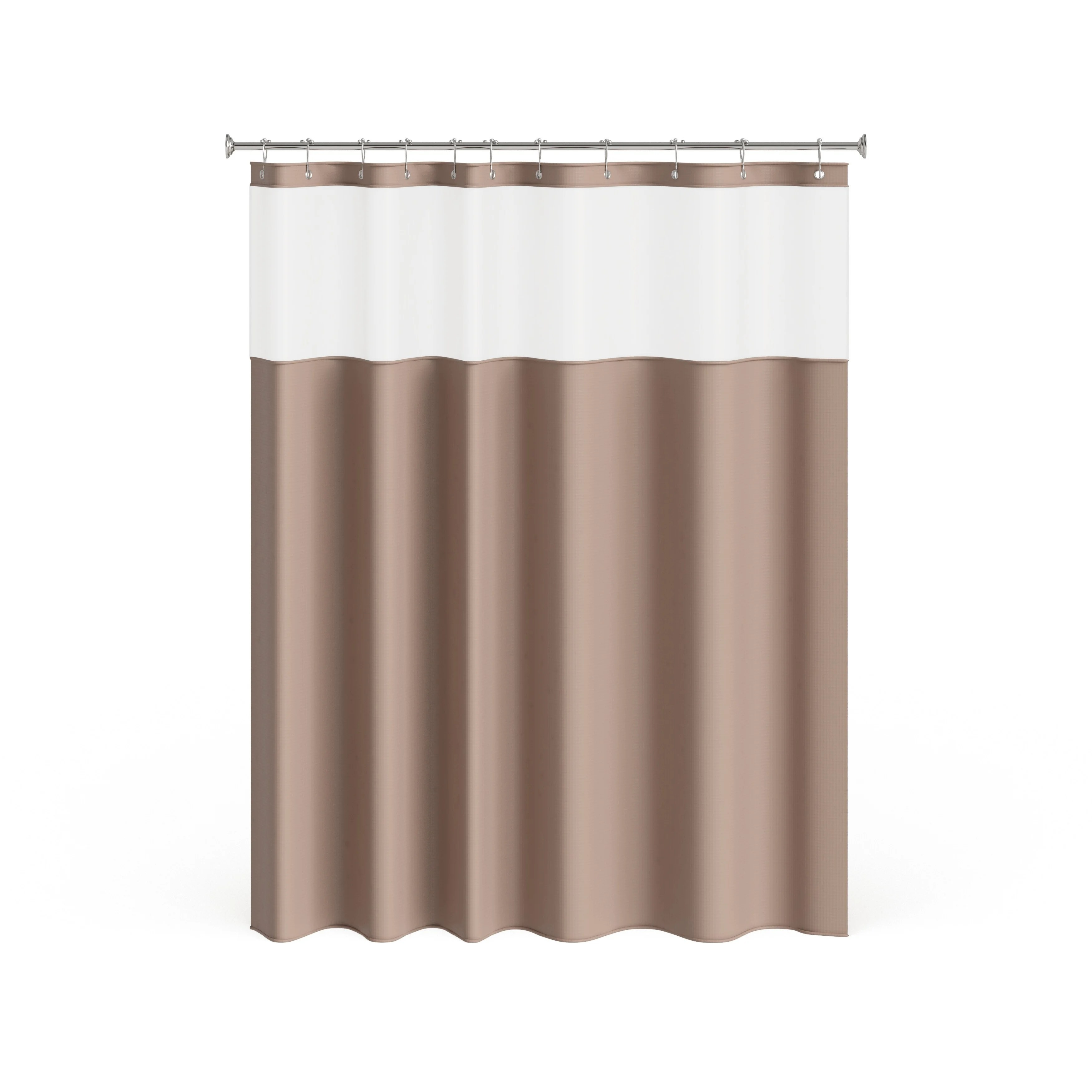 porch den roycroft hotel shower curtain with detachable liner