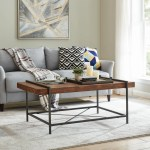 Shop Black Friday Deals On Firstime Co Cullen Rustic Farmhouse Coffee Table American Crafted Weathered Brown Fir Wood 47 X 25 X 20 In On Sale Overstock 31804912