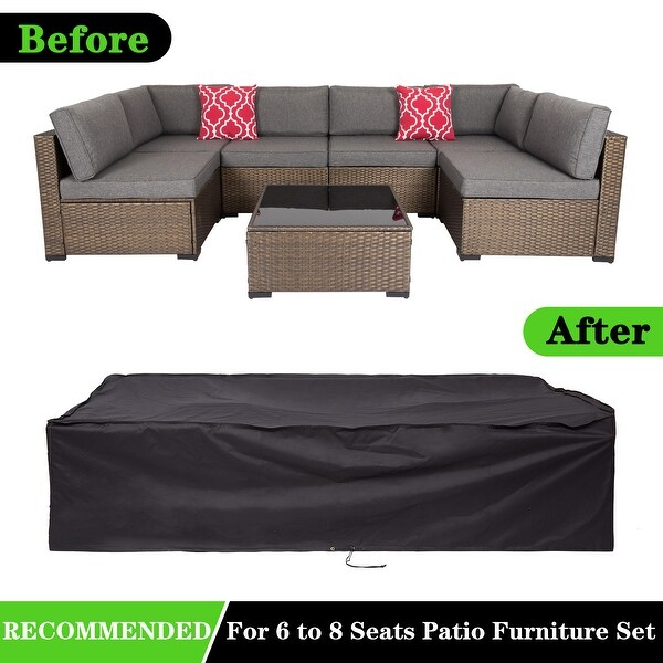 kinsunny patio furniture covers made of