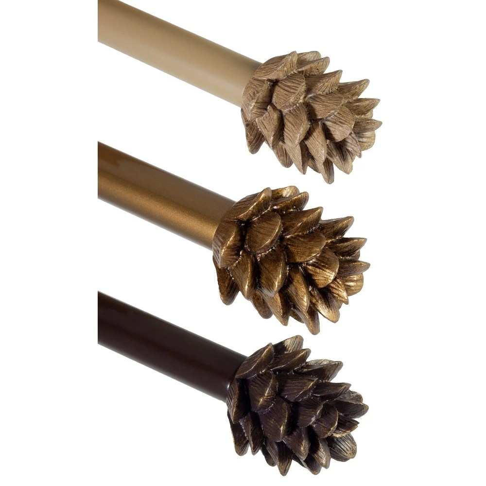 buy finial curtain rods hardware