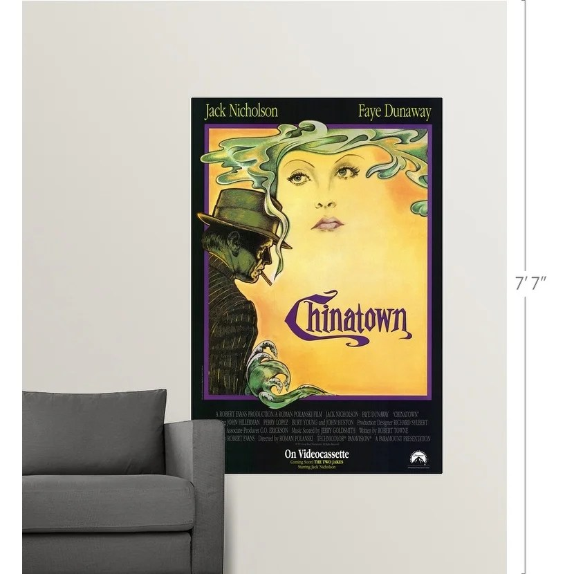 chinatown movie poster 24x36 inch wall
