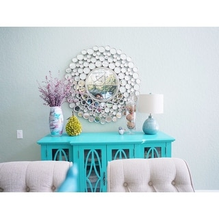 Turquoise Ceramic Accent Table Lamp - Free Shipping Today ...