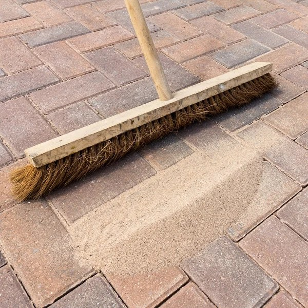paving stone joint sand stabilizing