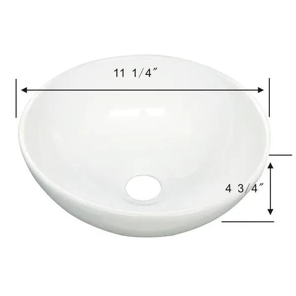 white small vessel sink mini above