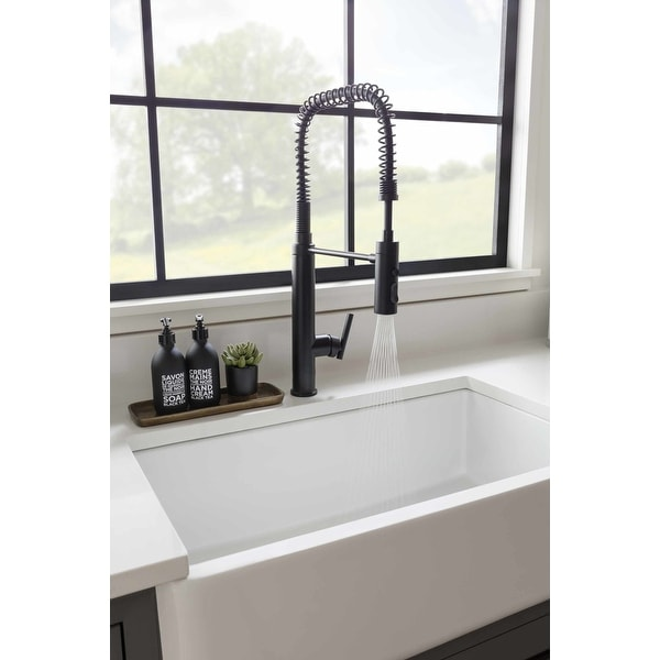 https www overstock com home garden kohler k 24982 purist 1 5 gpm single hole pre rinse kitchen faucet with sweep sp 27093180 product html