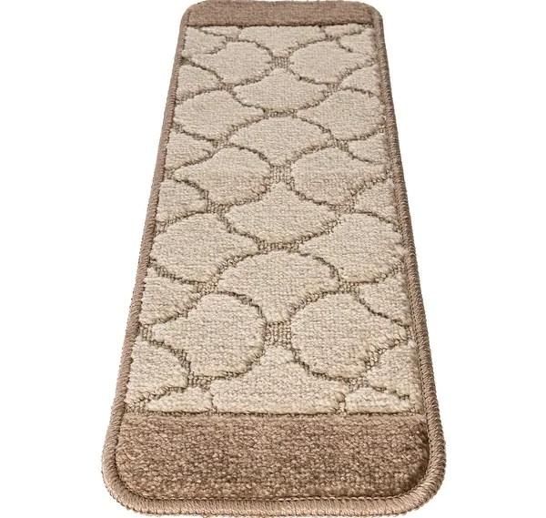 Shop Nova Morrocan Washable Non Slip Non Skid Stair Treads On   Washable Non Slip Stair Treads   Carpet Stair   Skid Resistant   Rubber Backing   Nova Morrocan Washable   Removable Washable