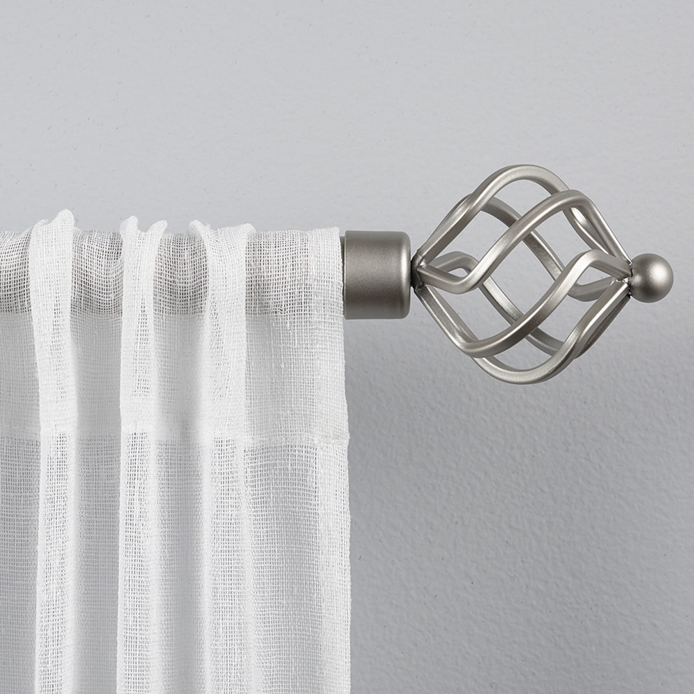 buy 85 to 120 inches curtain rods