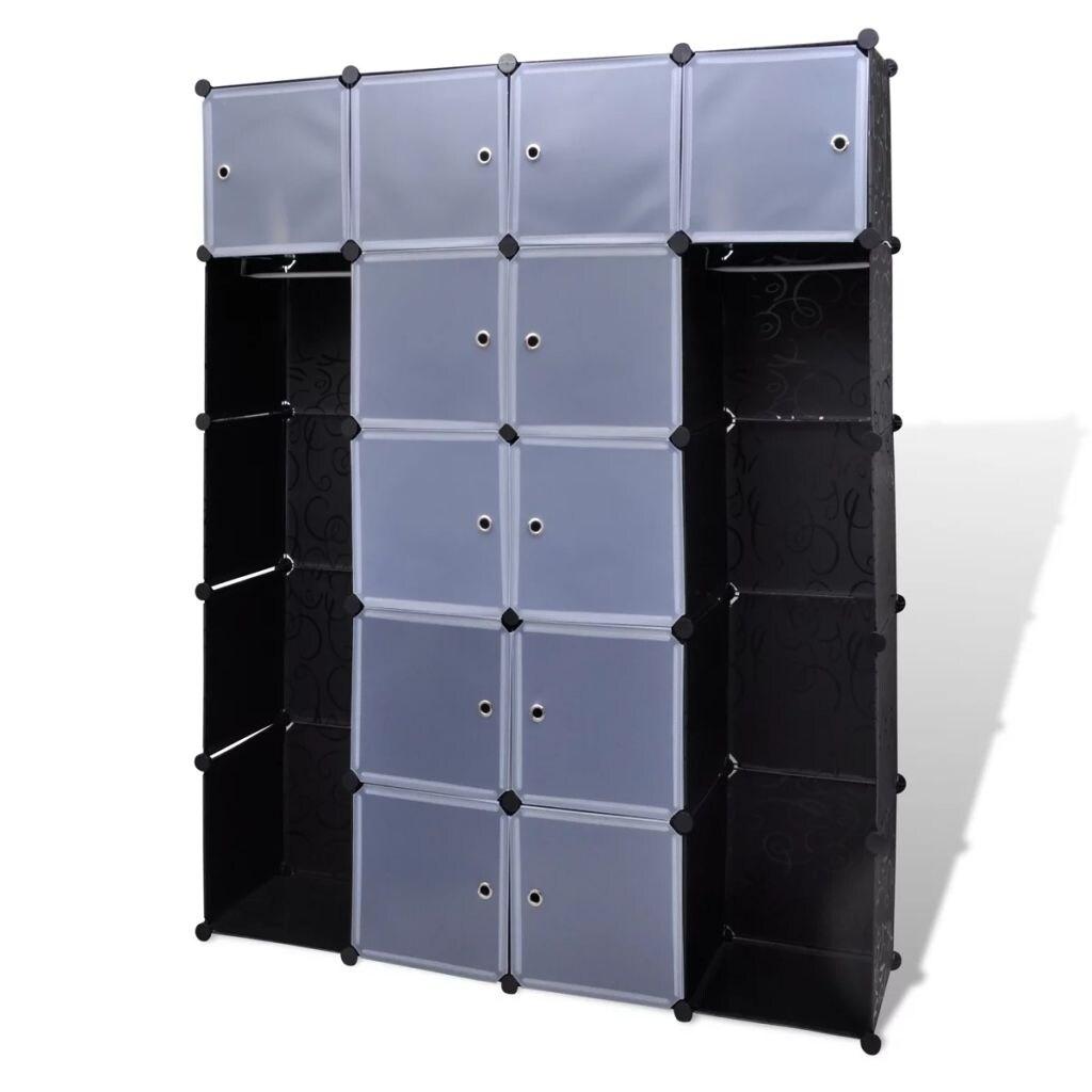 New Fashion Diy Plastic 8 Cubed Storage Cabinet Shelf Bathroom Wardrobe Gdng