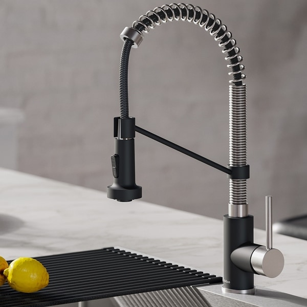 https www overstock ca home garden kraus kpf 1610 bolden 1 handle 2 function sprayhead 18 inch commercial pull down kitchen faucet 17961056 product html