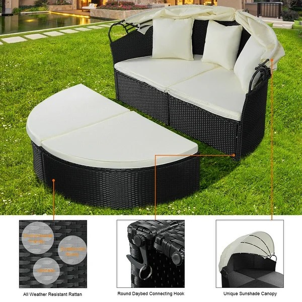 costway outdoor patio sofa furniture