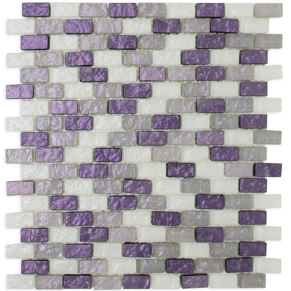 buy purple backsplash tiles online at