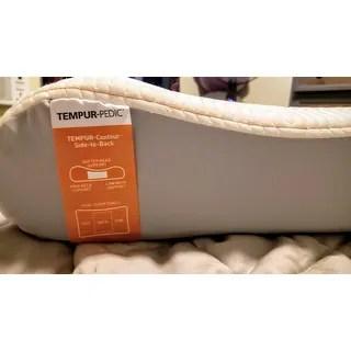 tempur ergo advanced neck relief pillow