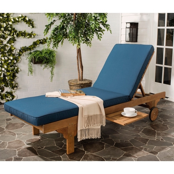 buy wood outdoor chaise lounges online