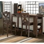 Spencer 3 Piece Brown Counter Height Dining Set Overstock 20003619