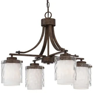 Craftmade 35424 Kenswick Single Tier 4 Light Chandelier 24 75 Inches Wide