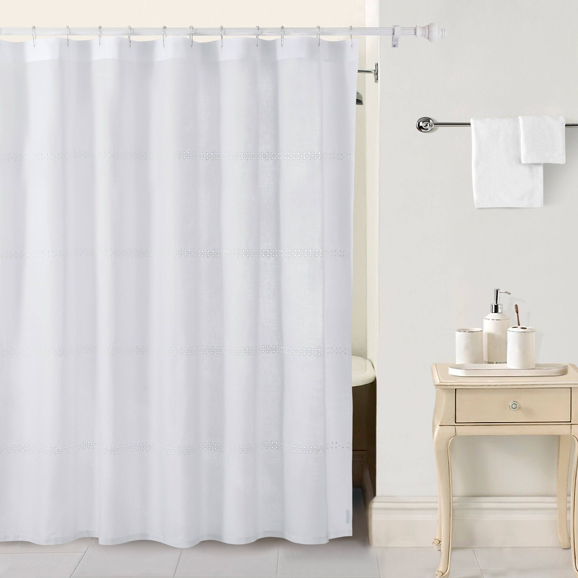 country living eyelet shower curtain
