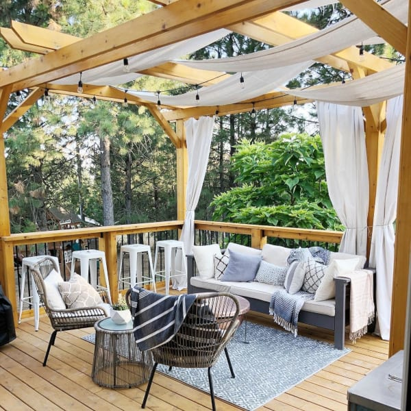 patio privacy ideas 5 secluded outdoor