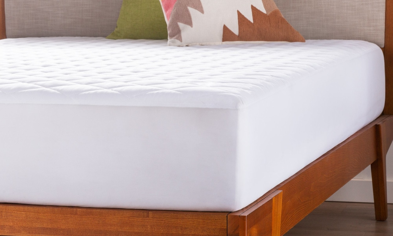keep cool with a memory foam topper