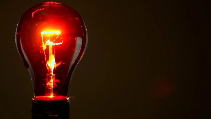 Red Light Bulb Picture