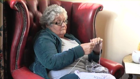 Image result for old lady in a chair
