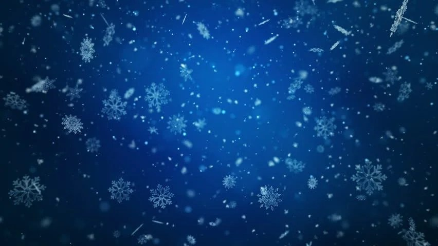 Winter Snow Blizzard Background Stock Footage Video
