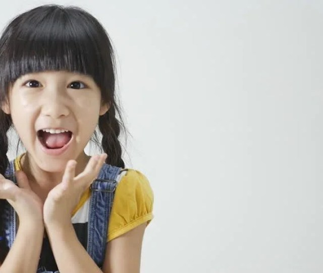 Little Asian Girl Is Surprised Stock Footage Video 100 Royalty Free 10295762 Shutterstock