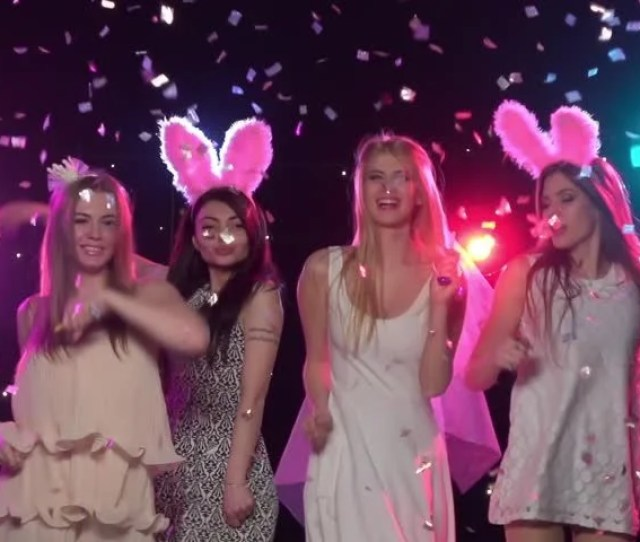Girls At Bachelorette Party Dancing Stock Footage Video 100 Royalty Free 16967563 Shutterstock