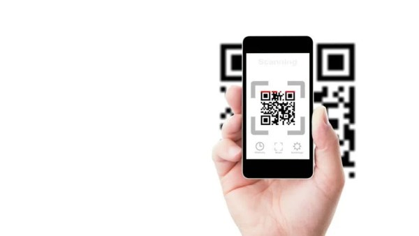 Smartphone in Hand Scanning Qr Stock Footage Video (100% ...