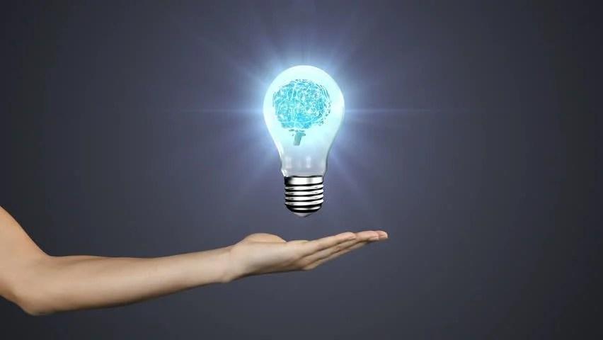 Chalk Light Bulb