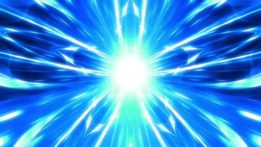 Brilliant Neon For Background Explosion Star Energy