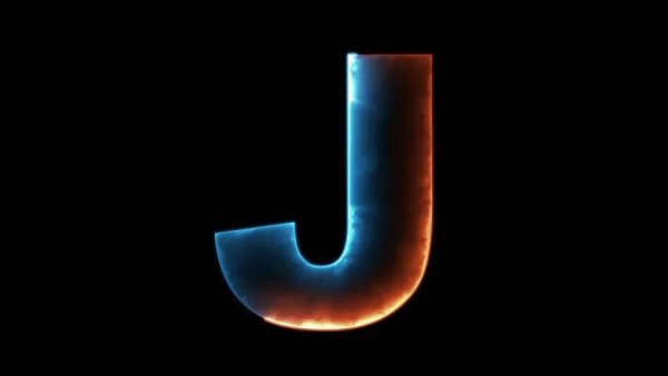 Alphabet Letter J - Outline Stock Footage Video (100% ...