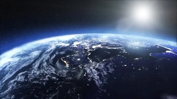 Satellite View of the Earth Stock Footage Video (100% ...