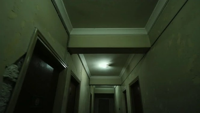 Old Apartment Building Long Dark Hallway Stock Footage Video 100 Royalty Free 17859565 Shutterstock