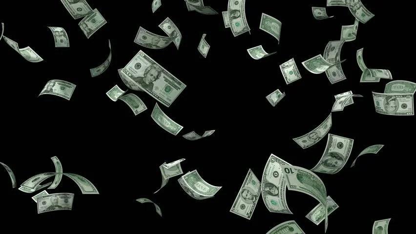 Money Raining Gif