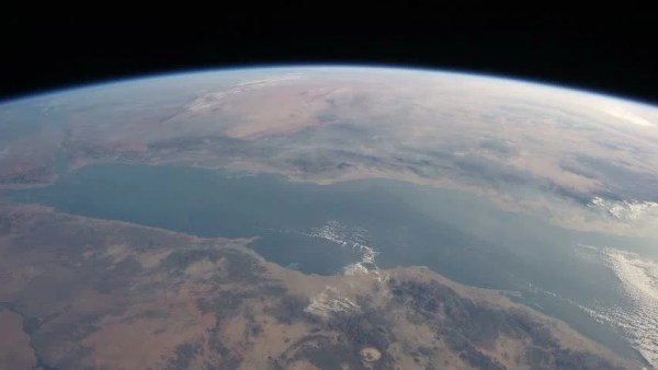 Stock Video Clip of International Space Station View of ...