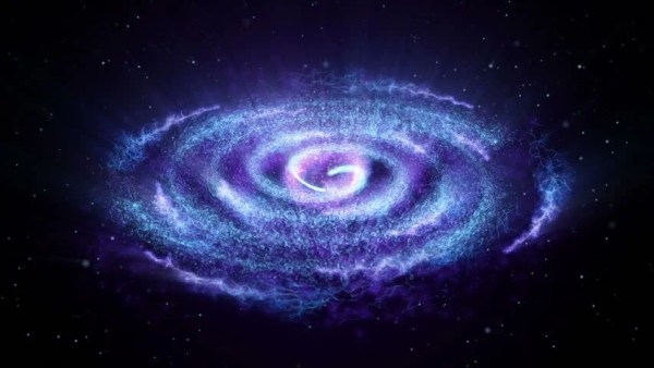 Spiral Galaxy Milky Way Stock Footage Video 3725084