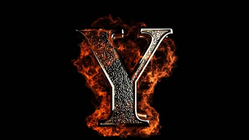 Y letter hd photos reviewwalls burning letter made in graphics stock footage 2117420 thecheapjerseys Images