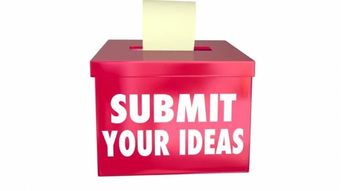 Image result for idea box""