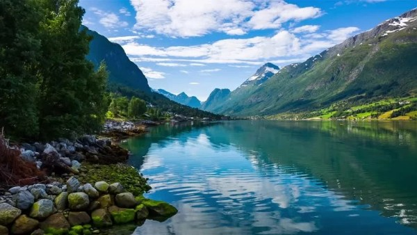 Beautiful Nature Norway Natural Landscape. Stockvideos ...