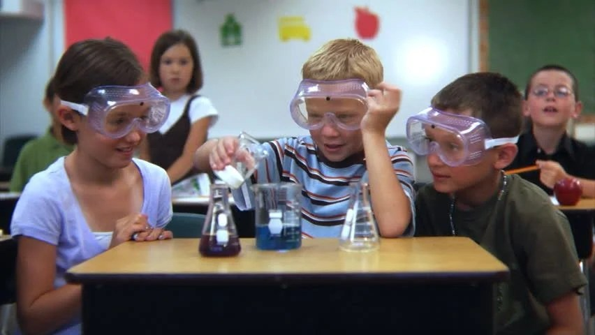 Experiment Chemistry Elementary Doing Students Science