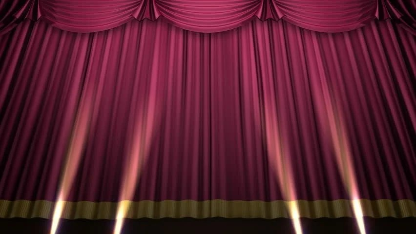 High Definition Clip Of An Opening Red Stage Curtain Stock Footage Video 547210 Shutterstock